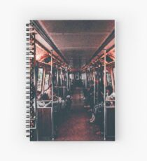 Transport PixelArt Spiral Notebook
