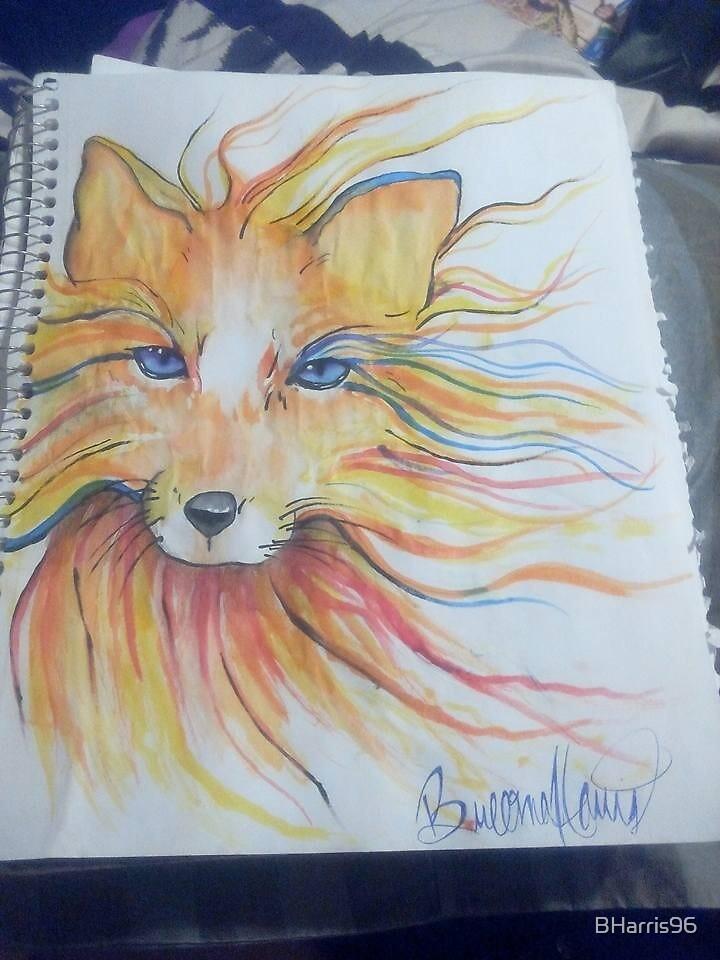 Kitten Sketch by BHarris96