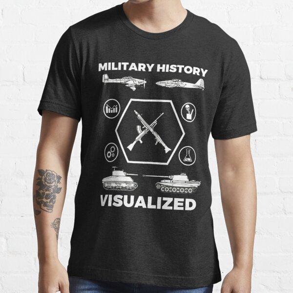 Military History Visualized - Planes, Tanks & Icons Essential T-Shirt