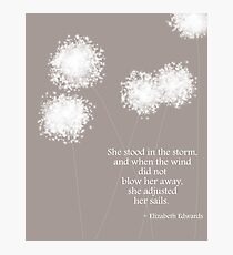 Edwards Quote Photographic Print