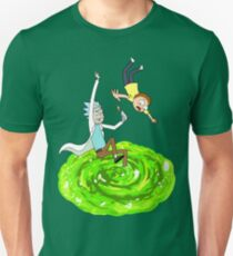 Rick and Morty - Portal Unisex T-Shirt