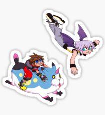 Sora & Riku- Spirituosen Sticker