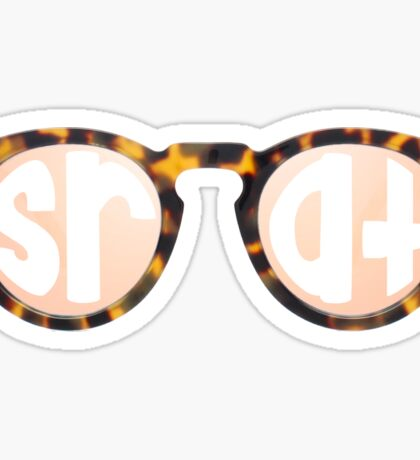 Srat Glasses Sticker
