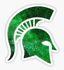 Galaxy Michigan State University Sticker