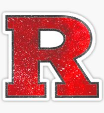 Galaxy Rutgers University Sticker