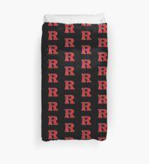 Galaxy Rutgers University Duvet Cover