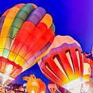 hot air balloon festival by ALEX GRICHENKO