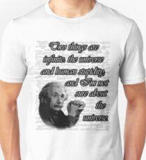 Einstein and Infinites  Unisex T-Shirt