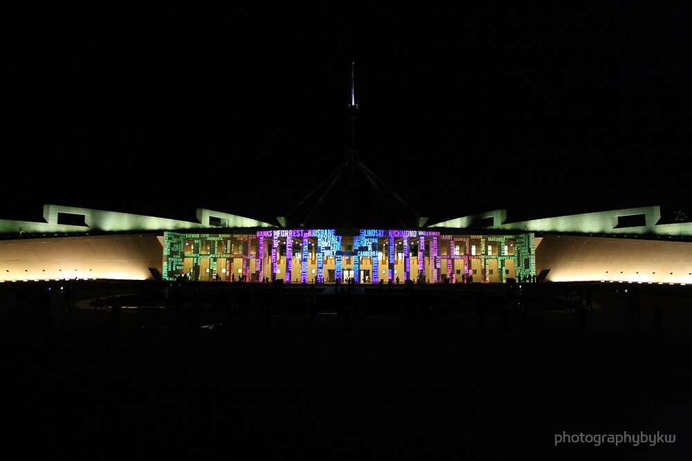 Parliament house ACT by photographybykw