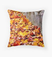 Piling Up Fast Throw Pillow