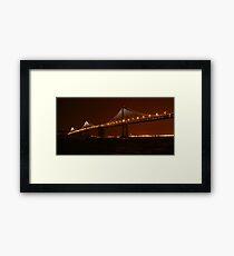The Bay Lights ~ Grand Lighting Framed Print