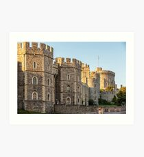 Windsor Castle, England Art Print