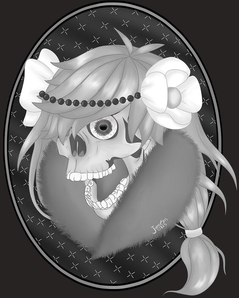 Screaming skull by JJartsLab