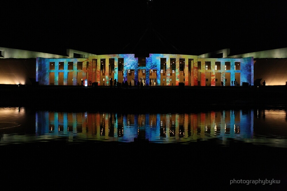 Parliament House Enlighten Festival  by photographybykw