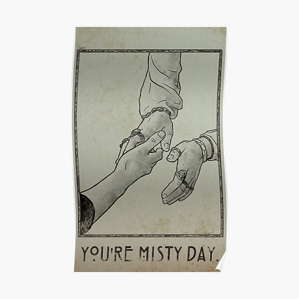 Du bist Misty Day Poster