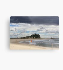 Nobby Beach Lighthouse Newcastle  Metal Print