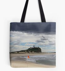 Nobby Beach Lighthouse Newcastle  Tote Bag