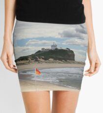 Nobby Beach Lighthouse Newcastle  Mini Skirt