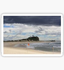 Nobby Beach Lighthouse Newcastle  Sticker