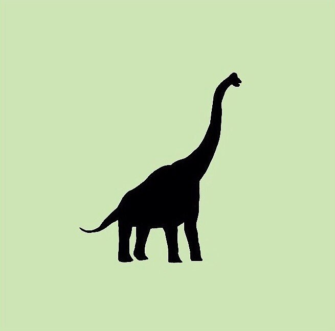 Brachiosaurus Sticker by jayem777
