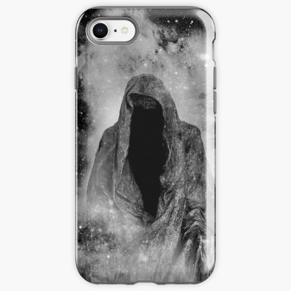 Starry Dark Angel Galaxy Portrait iPhone Tough Case