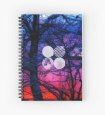 BTS- Wings Trees Spiral Notebook