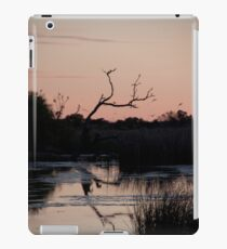 Outback waterhole at sunrise iPad Case/Skin
