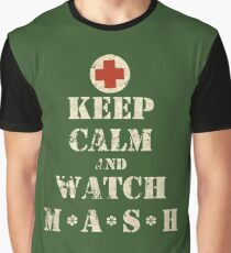 Keep Calm and Watch M*A*S*H Graphic T-Shirt