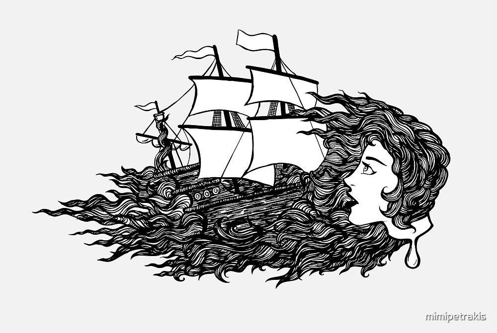 Lost at Sea by mimipetrakis