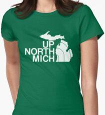 Camiseta entallada Hasta el norte de Michigan