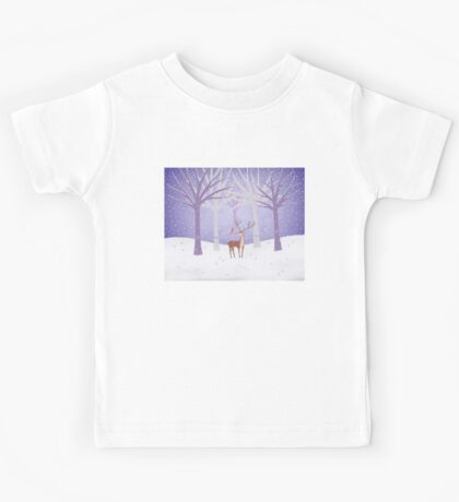 Deer - Squirrel - Winter - Snow - Forest Kids Clothes