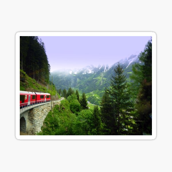 Bernina Express Sticker