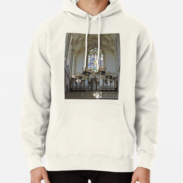 St Barbara's cathedral, Kutna Hora, Czech Republic Pullover Hoodie