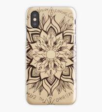 Wheel Mandala of Dharma  iPhone Case