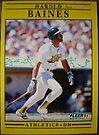 237 - Harold Baines by Foob's Baseball Cards
