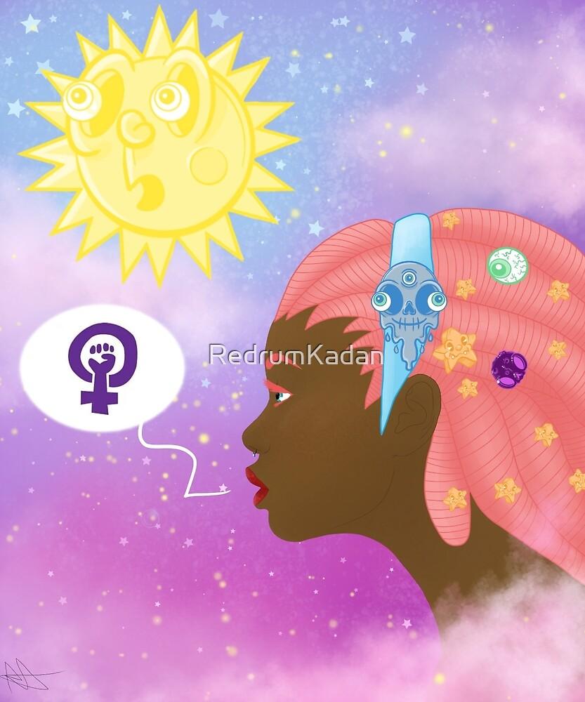 feminist in space by RedrumKadan