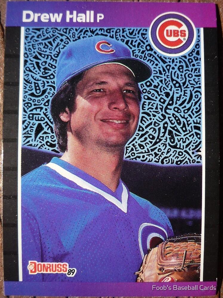 236 - Drew Hall by Foob's Baseball Cards