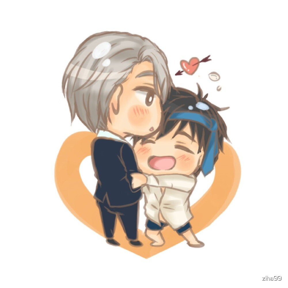 Victor and Yuuri Banquet by ziha99