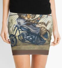 Daryl Dixon Cat from The Walking Dead Mini Skirt