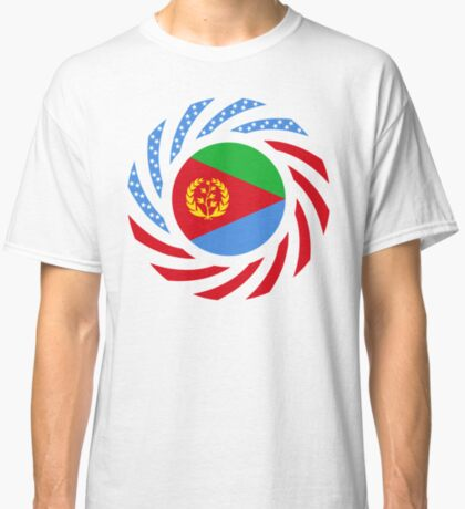 Eritrean American Multinational Patriot Flag Series Classic T-Shirt
