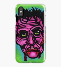 Pink Zombie iPhone Case