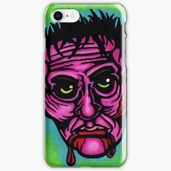 Pink Zombie iPhone Snap Case