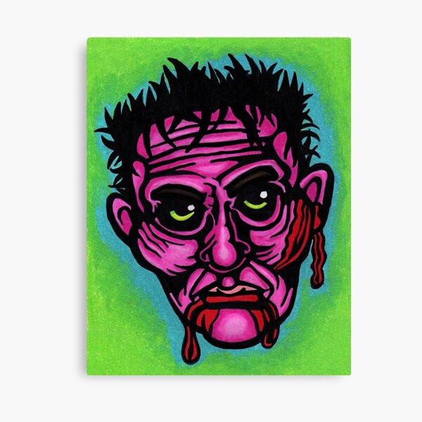 Pink Zombie Canvas Print