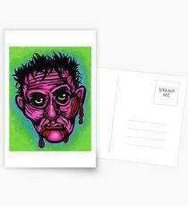 Pink Zombie Postcards
