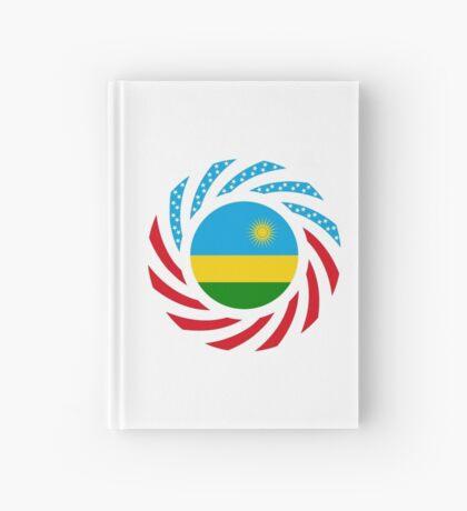 Rwandan American Multinational Patriot Flag Series Hardcover Journal