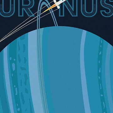 Deep Space Travel: Uranus by srahhh