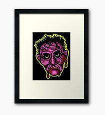 Pink Zombie - Die Cut Version Framed Print