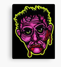 Pink Zombie - Die Cut Version Canvas Print