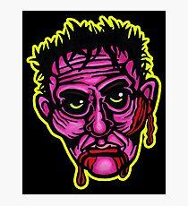 Pink Zombie - Die Cut Version Photographic Print