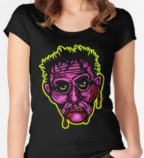 Pink Zombie - Die Cut Version Women's Fitted Scoop T-Shirt